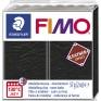 Veidojamā masa FIMO Leather effect melna
