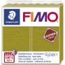 Veidojamā masa FIMO Leather effect olīvzaļa