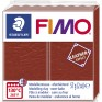 Veidojamā masa FIMO Leather effect sarkanbrūna